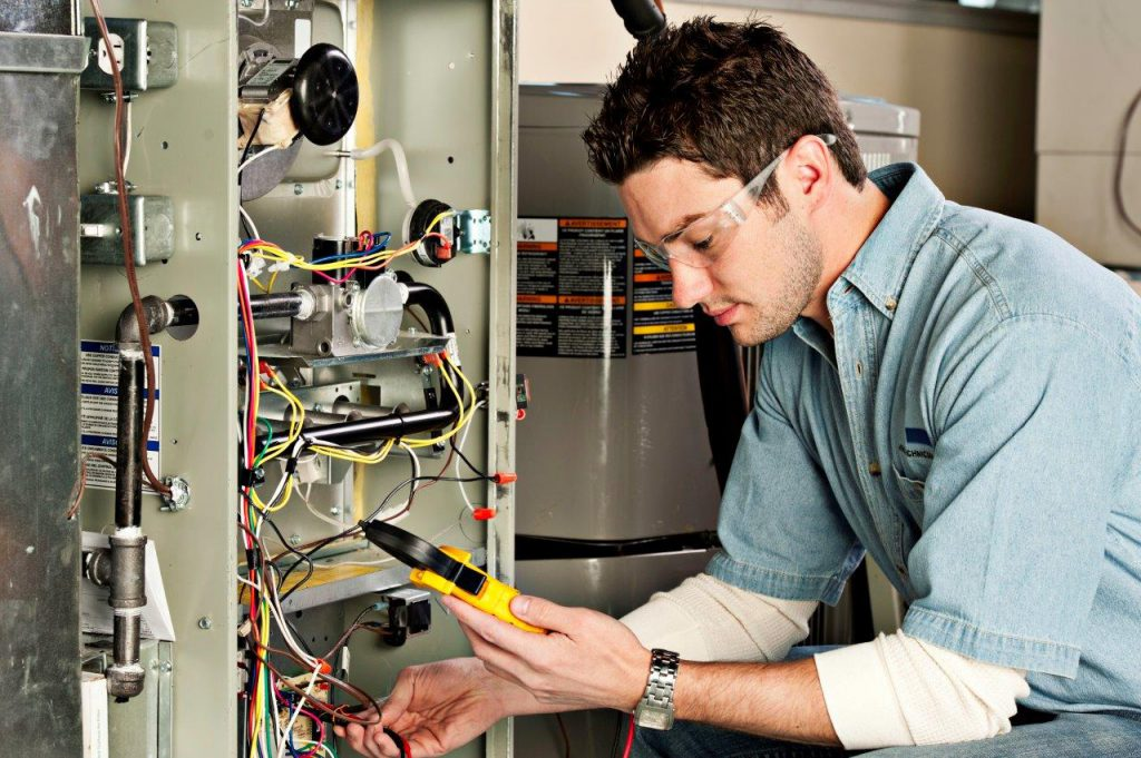 Furnace maintenance by experts from MIRON