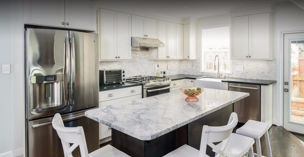 home remodeling project completed by Magic Remodelers